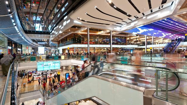 Westfield Stratford Shopping Centre.