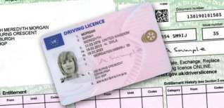 convert the Italian driving license to the UK