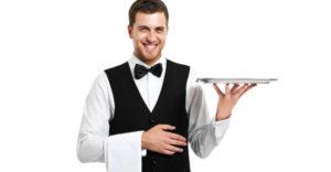 quanto guadagna un cameriere a londra